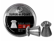 RWS Super-H-Point .22 Cal, 14.2 Grains, Hollowpoint, 200ct