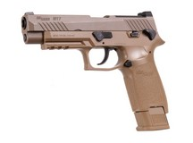SIG Sauer M17 P320 ASP, CO2 Pellet Pistol, Tan Air gun