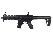 SIG Sauer MPX CO2 Rifle, Black Air rifle