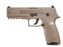 SIG Sauer P320 CO2 Pistol, Metal Slide, Coyote Tan Air gun