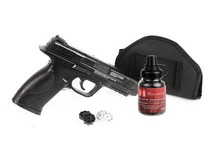 Smith & Wesson S&W M&P 45 BB & Pellet Pistol, Black Ops Combo Air gun