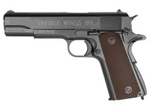 Tanfoglio Witness 1911 CO2 BB Pistol, Brown Grips Air gun