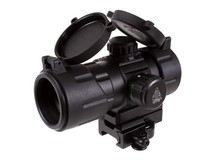 UTG 4.2 inch ITA Red/Green T-Dot Sight, 38mm Tube, Riser, Quick-Detach Mount