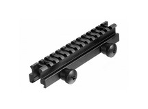 UTG Weaver/Picatinny Riser Mount, Medium Profile, 0.83 inch High, 13 Slots