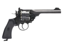Webley & Scott Ltd. Webley MKVI CO2 Pellet Revolver Battlefield Finish Air gun