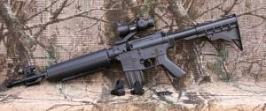 Crosman's multi-pump M4177 rifle