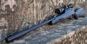 Gamo Whisper Fusion Pro, High powered break barrel spring airgun with 3-9x40 AO scope and heavy duty mount