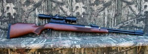 RWS 460 Magnum with RWS lockdown mount and 4x32AO scope - High end underlever spring airgun