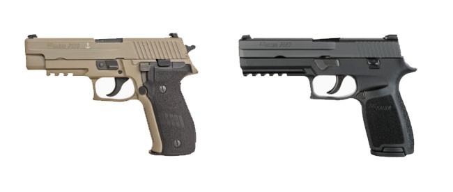 New Sig Sauer Pistols