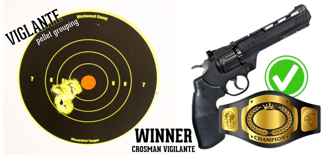 Head to Head: Crosman Vigilante vs  Umarex Colt Python