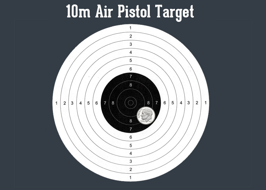 photo relating to Printable Pistol Correction Chart known as 10m Compeive Taking pictures Specialist Airgun Depot