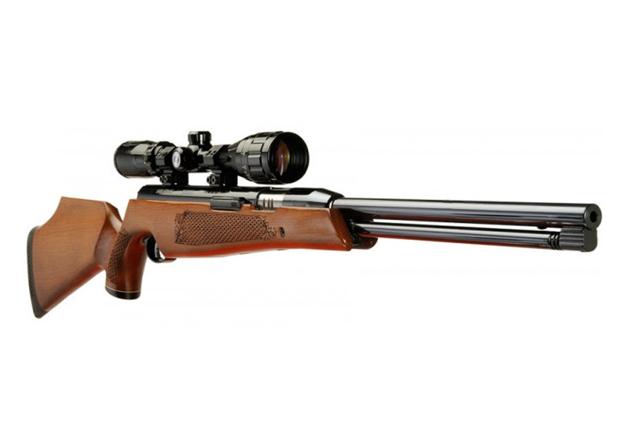 Air Arms TX200 Air Rifle with Scope Mounted