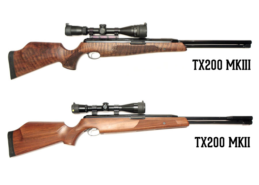 Air Arms TX200 MKII vs MKIII