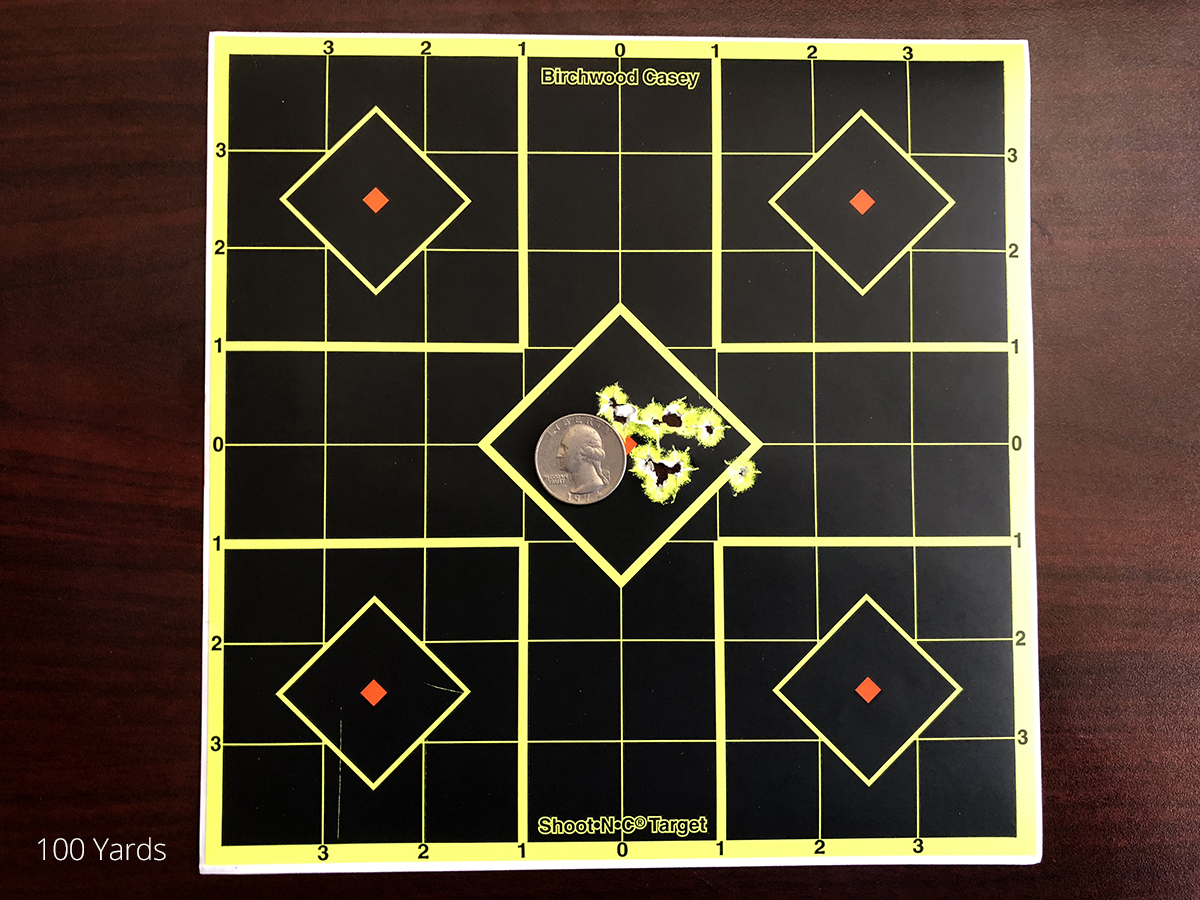 Brocock Bantam Sniper Accuracy at 100 Yards
